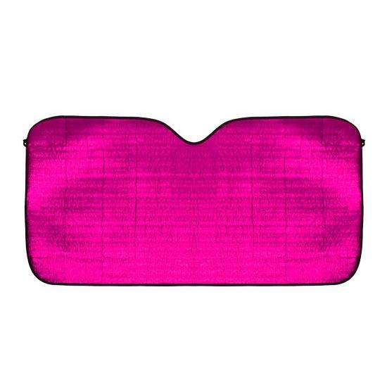 Zonwerend scherm roze voor de auto