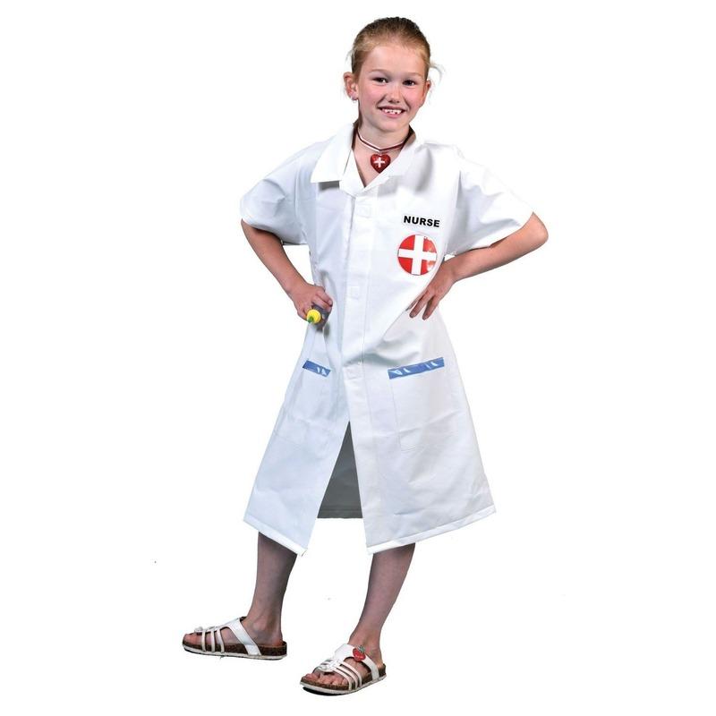 Zustersjas voor kids met injectie naald