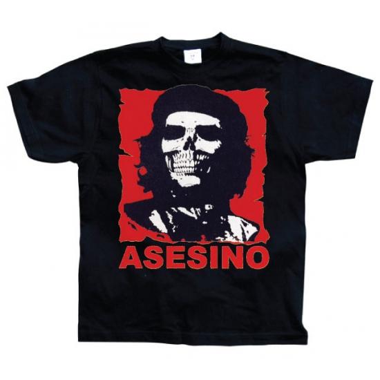 Zwart Asesino t shirt