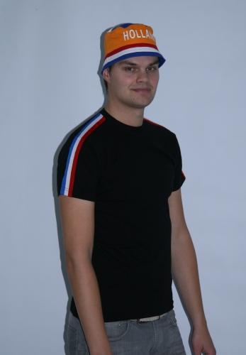 Zwart Holland shirt rrd wit blauw