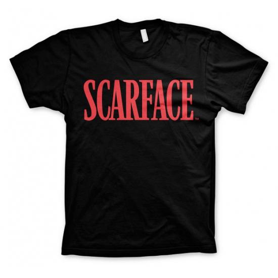 Zwart Scarface t shirt