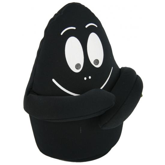 Zwarte barbamama knuffels 18 cm