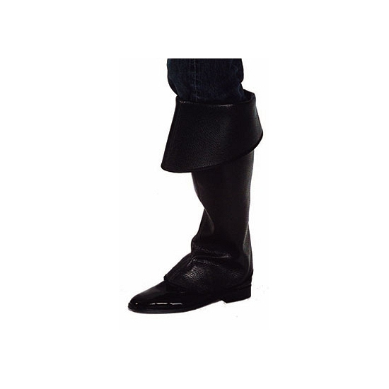Zwarte boot covers