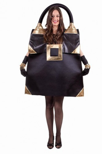 Zwarte handtas outfit voor dames