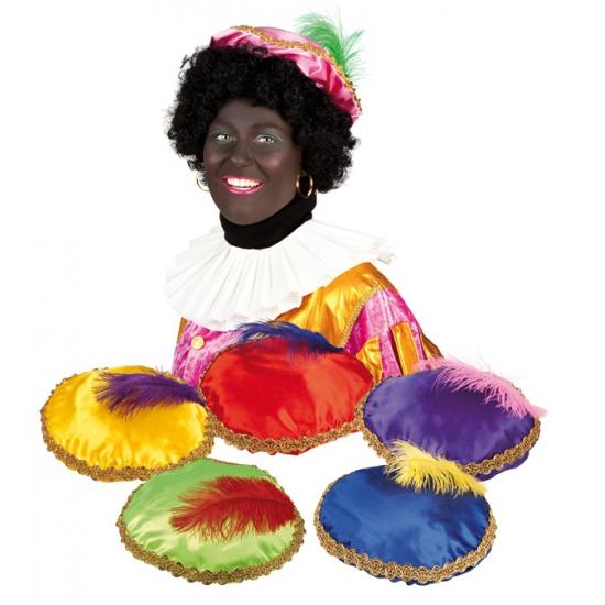 Zwarte Piet baret roze