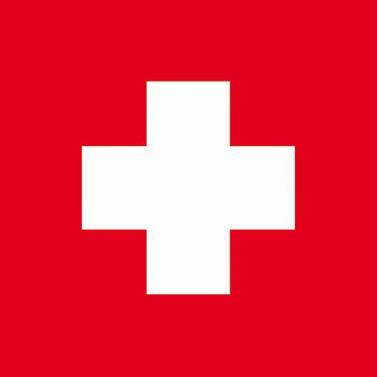 Zwitserse vlag servetten 20 stuks