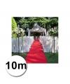 10 meter rode loper 1 meter breed
