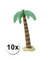10x opblaasbare palmboom 90 cm