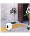 2 meter gouden glitter loper 1 meter breed