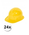 24 voordelige gele kinder bouwhelmen