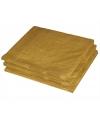 25 gouden servetten 33 x 33 cm
