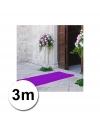 3 meter paarse loper 1 meter breed