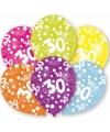 30 jaar leeftijd ballonnen 6 stuks