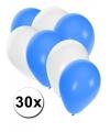 30x ballonnen in finse kleuren