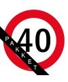 40 jaar feestpakket middel