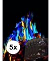 5 pakjes mystical fire gekleurde vlammen