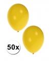 50 ballonnen geel
