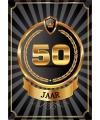 50 jaar deurposter luxe