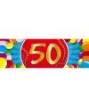 50 jaar sticker
