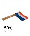 50 zwaaivlaggetjes holland