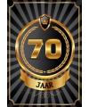 70 jaar deurposter luxe
