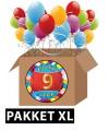 9 jaar versiering voordeel pakket xl