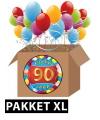 90 jaar versiering voordeel pakket xl