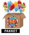 90 jaar versiering voordeel pakket