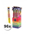 96 neon sterretjes 45 cm