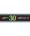 Banner 30 jaar 165 cm