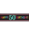 Banner 50 jaar 165 cm