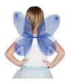 Blauwe vlinder vleugels voor kinderen