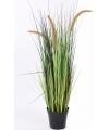 Bloeiende kunst grasplant 100 cm