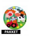 Boerderij thema kinderfeest pakket