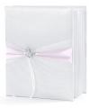 Bruiloft gastenboek met vlinder