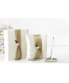 Bruiloft receptie accessoires set goud lint