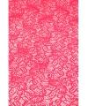 Buiten tafelloper fuchsia roze antislip 150 x 40 cm