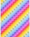 Cadeaupapier gekleurd raster