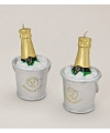 Champagne kaarsje