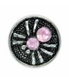Chunk met spin roze 1 8 cm