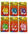 Cijferkaars 40 jaar