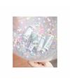 Confetti ballon vulset 90 cm