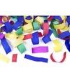 Confetti kanon kleuren mix 20 cm