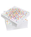 Confetti thema servetten 20 stuks