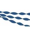Crepe slinger donkerblauw 30 meter