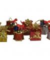 Decoratie cadeau hangers 4 stuks