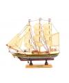 Decoratie model zeiljacht 24 cm