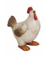 Decoratief kippen beeldje 11x23 cm type 1