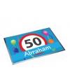 Deurmat abraham 50 jaar