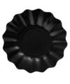 Diepe bordjes zwart 21 cm